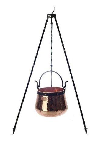 Dreibein Ständer 100cm, zum Aufhängen von Kesseln