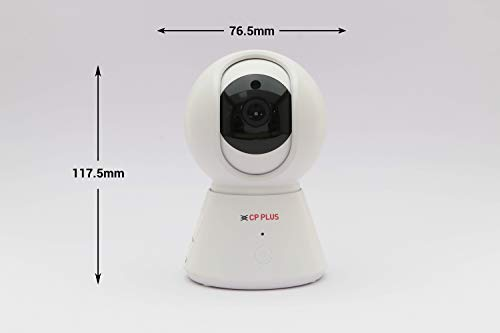 CP Plus 360° 1080P 2MP Ezykam WiFi Security Camera (White)