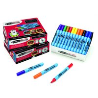 Show-me Assorted Drywipe Pens, Fine Tip, 50 by Eastpoint Global