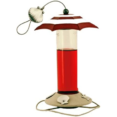 Avant Garden B01HB Sandy Beach 12-Ounce Hummingbird Feeder