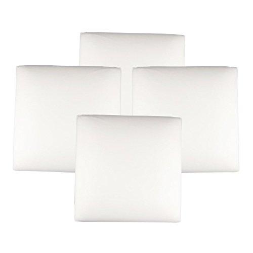 The White Willow mousse à mémoire oreiller divan décoratif indien insert de coussin de 4 pièces des articles de cadeau