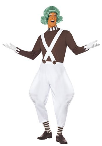 SMIFFY 'S Candy Creator männlich Kostüm mit Top/Hose/Handschuhe und Socken-parent Candy Dress Up