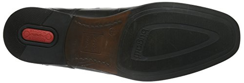 bugatti313160021010 - Scarpe stringate Uomo Nero (Schwarz (schwarz 1000))