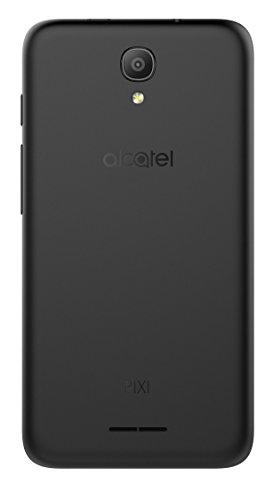 Alcatel Pixi 4 - Smartphone  5   WiFi  Quad Core 1 3 GHz  memoria interna de 8 GB  1 GB de RAM  c  mara de 5 MP  Android 6  color negro