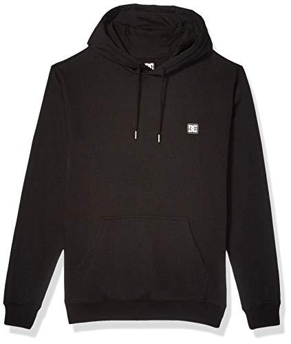 DC Herren Rebel Pullover 3 Fleece Kapuzenpulli, schwarz, X-Groß Dc-fleece-pullover