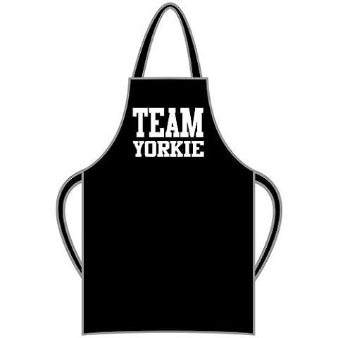 Team Yorkie–Grembiule Regalo e messaggio regalo disponibile