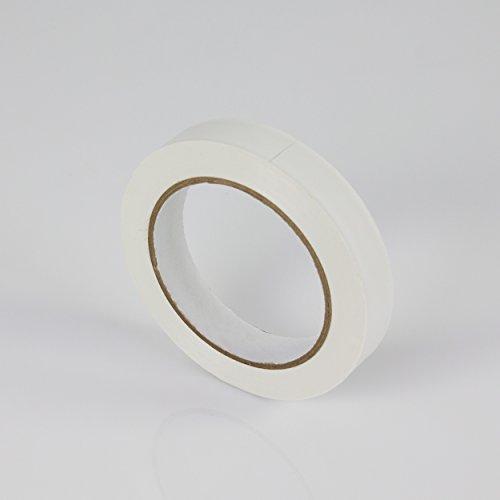 Beschriftungsband, weiß, beschriftbar, 33m x 19mm - Klebeband / Markierband - showking
