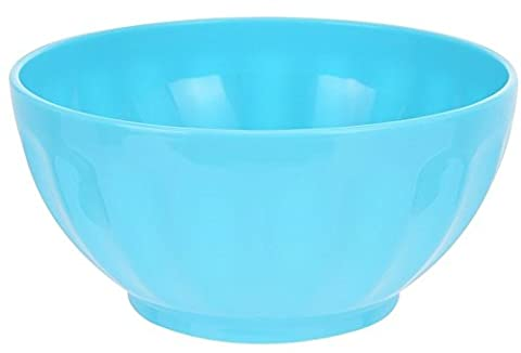 Set von 4Müslischale Kunststoff nicht brechen in pink blau oder grün Suppenteller Camping blau