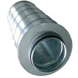 Silencieux métal 200/600mm