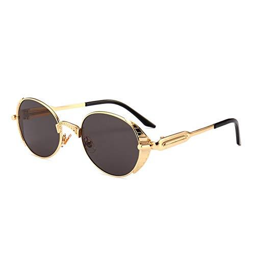 CHENGZI Spiegelglas Runde Brille Steampunk Sonnenbrillen Für Männer Und Frauen Brillen