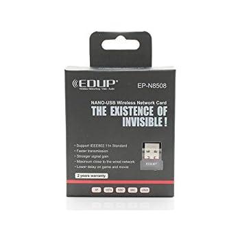 EDUP EP-8508N Mini Wireless N 11n Wi-Fi Nano USB Adapter
