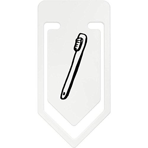 Azeeda 141mm \'Cepillo de Dientes\' Clip de Papel Plástico Gigante (CC00035272)