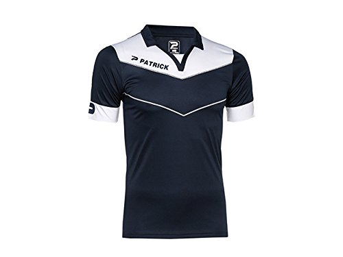 Patrick Power Fußball Trikot Kinder Blau Marine/Weiß fr: L (Größe Hersteller: L) -