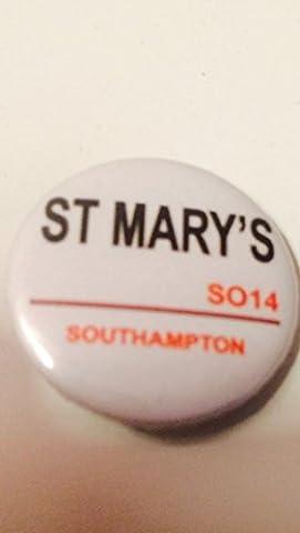 badge1005St Marys Southampton Football 25mm Bouton Badge à épingle en métal Conçu par Coole Badges