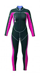 Mares Mira Women's Diving Suit, Womens, Tauchanzug Mira, Black