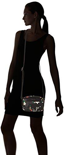 Tamaris Damen Ava Crossbody Bag Umhängetasche, 5 x 14 x 20 cm (black comb.)