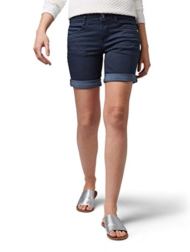 Tom Tailor für Frauen Jeanshosen Alexa Slim Jeans in Capri-Länge Sky Captain Blue, 25