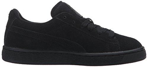 Puma, Sneaker bambini nero Black/White Black/Puma Silver