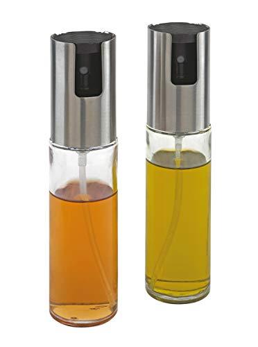 Öl und Essigzerstäuber Ø4 x 16,4 cm praktische Einhandbedienung durch Pumpmechanismus