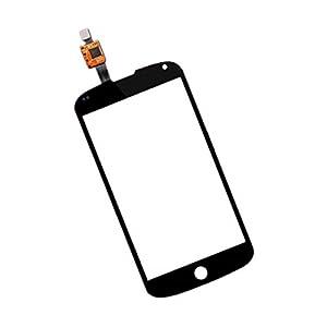 BisLinks® Schwarz Touchscreen Digitizer Ersatzteil FR LG E960Google Nexus 4