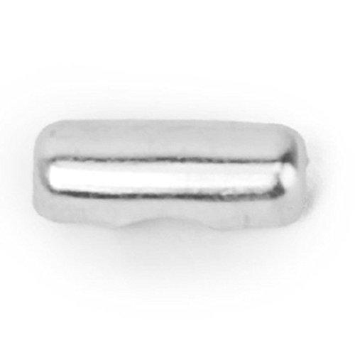 TOOGOO(R) 100 pieces Bouchon de chaine a boucle Fermeture 2.4 mm