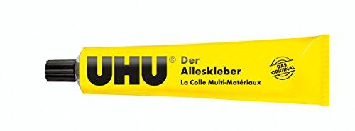 UHU Alleskleber, Der bewährte Universalkleber für nahezu alle Klebefälle im Haushalt, 125 g