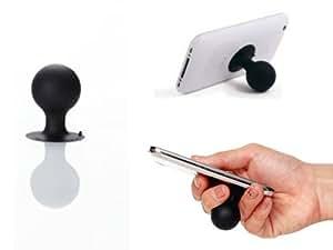 iStand -Petit Support de bureau en caoutchouc pour iPod et iPhone - NOIR