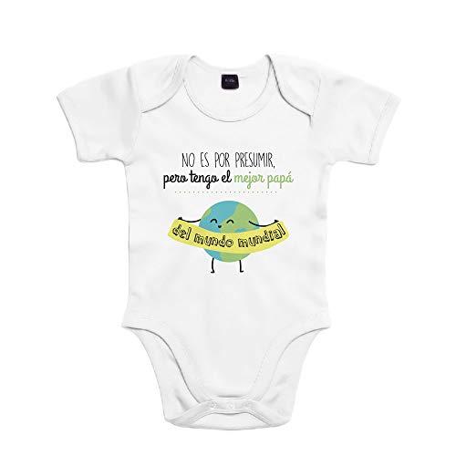 SUPERMOLON Body bebé algodón No es por presumir pero tengo el mejor
