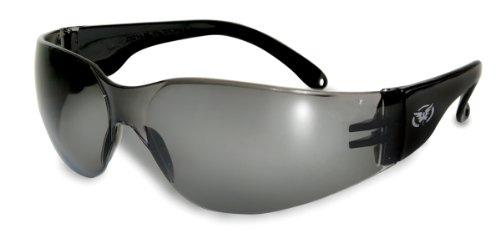 Splitterfrei UV400 Motorrad-Sonnenbrille / bikerbrille mit kostenlosen Mikrofaser Aufbewahrungstasche