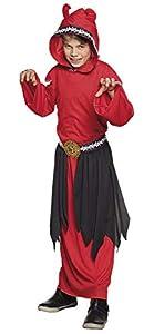 Boland Disfraz 78118Niños Demonio 4-6años, Color Rojo/Negro
