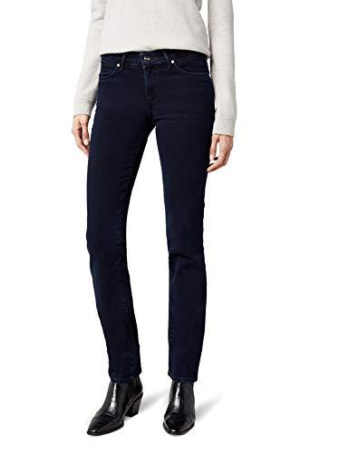 Wrangler Damen Jeans Straight Blueblack, Blau (Blueblack 51L), W27/L32