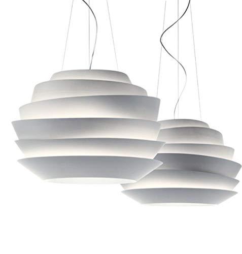 5151BuyWorld Lampe Le Soleil Foscarini Wave-Weiß Startseite Rose Leuchte Pendelpendelleuchte Hängenden Licht Entworfen Von Vicente Garcia Jimenez Durchmesser 63Cm {White & White}