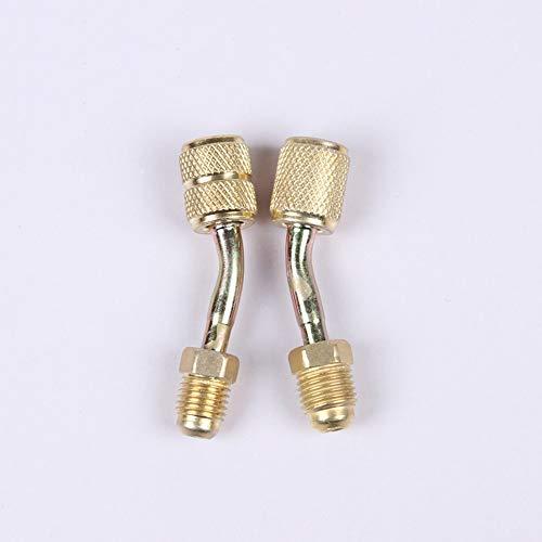 R410a Adaptador puerto vacío carga sistema climatización