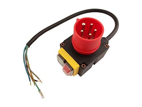Schalter mit Stecker 400 Volt passend Stahlmann T8-400 Holzspalter
