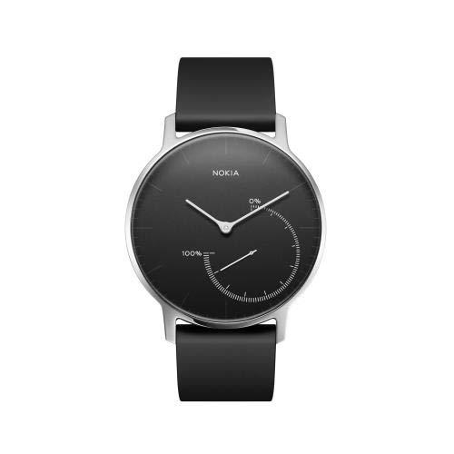 Nokia Steel - Fitnessuhr mit Aktivitäts- & Schlafsmessung, schwarz