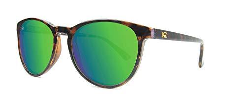 Knockaround Mai Tais polarisierten Sonnenbrillen (Glossy Tortoise Shell / Green Moonshine)