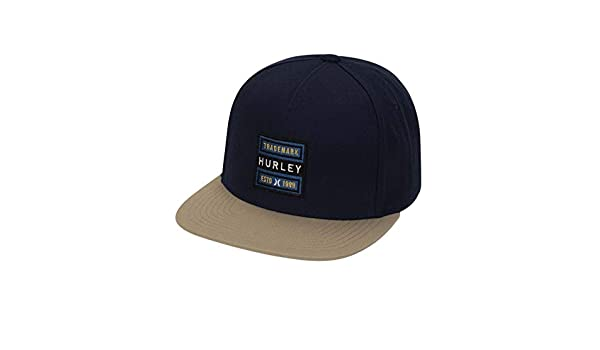 Taille Fabricant : 1SIZE Hurley M Goldenwest Hat Casquettes Homme Obsidian FR Unique