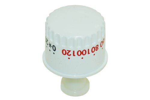 Weiß Timer Knob (TRICITY BENDIX Waschmaschine Weiß Timer Knob. Original Teilenummer 1247994807)