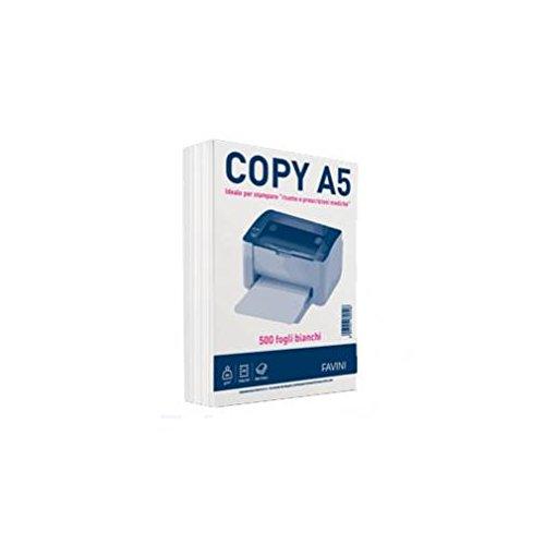 Carta fotocopie Favini Copy A5 (148X210mm) 80 gr./m2 - Risma da 500 fg.