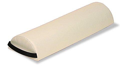 EARTHLITE Knierolle JUMBO HALBRUND - Massagekissen/Nackenrolle/Nackenkissen für Massageliegen & Rückenschmerzen (73 x 11.5x 23cm)