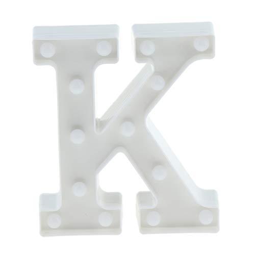 Fenteer A-Z Buchstaben Alphabet Leuchtbox Light Box Leuchtkasten Leuchteschild Schilder - K