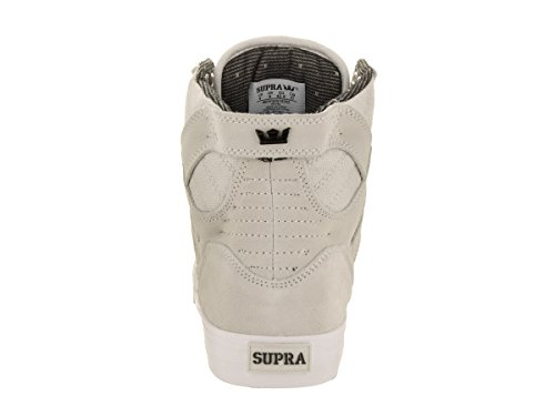 Supra Skytop S18091, Baskets mode homme Light Grey - White