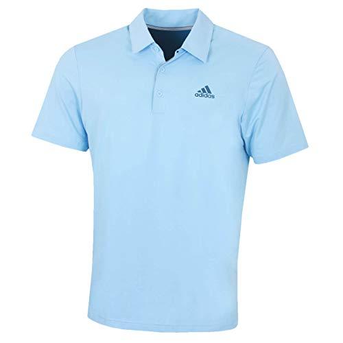 Adidas Golf Shirt Blau (adidas Golf Herren Ultimate365 Fest-Polo-Hemd - Glow Blau/Tech Ink - XL)