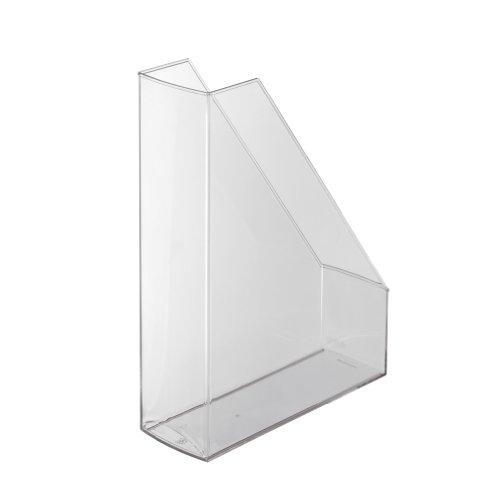 Herlitz 1966811 Stehsammler A4-C4 hochglanz transparent, glasklar, Kunststoff