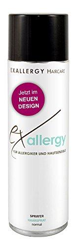 EXALLERGY Hairstyling Sprayer normal Haarspray für Allergiker (500 ml)