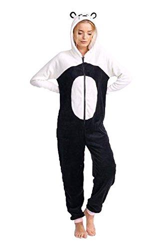 Brave Soul Damen Strampelanzug Gr. Medium, Panda