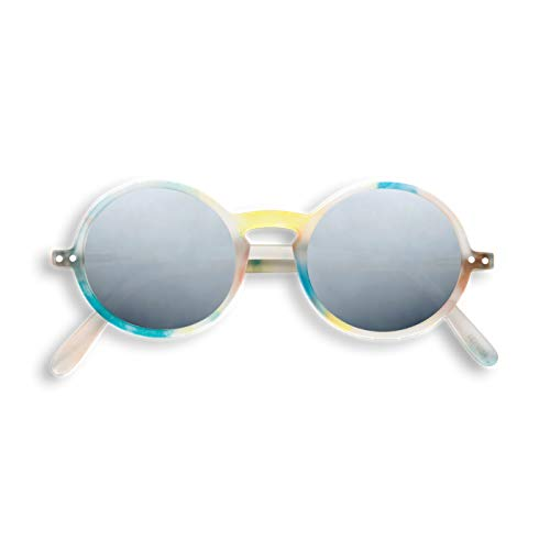 Izipizi Sonnenbrille G Sun Flash Lights Silver Mirror Lenses