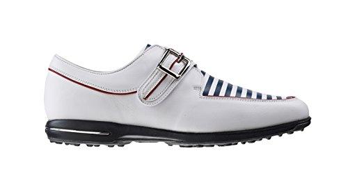 Foot-joy Scarpe da Golf Donna Multicolore Blanco/Azul Marino/Rojo 39 (M)