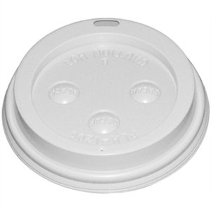 Fiesta CE263 Lid for 8 oz. Hot Cups (Pack of