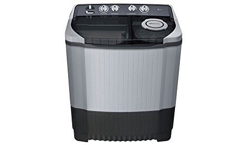 LG 8.0 kg Semi-Automatic Top Loading Washing Machine (P9039R3SM, Dark Grey)